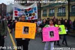 71 AHA MEDIA at 25th Annual Women's Memorial March on Feb 14, 2015 in Vancouver DTES