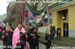 72 AHA MEDIA at 25th Annual Women's Memorial March on Feb 14, 2015 in Vancouver DTES