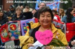 73 AHA MEDIA at 25th Annual Women's Memorial March on Feb 14, 2015 in Vancouver DTES