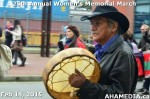74 AHA MEDIA at 25th Annual Women's Memorial March on Feb 14, 2015 in Vancouver DTES