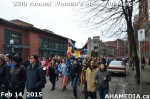 76 AHA MEDIA at 25th Annual Women's Memorial March on Feb 14, 2015 in Vancouver DTES