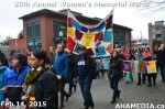77 AHA MEDIA at 25th Annual Women's Memorial March on Feb 14, 2015 in Vancouver DTES