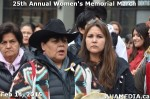 8 AHA MEDIA at 25th Annual Women's Memorial March on Feb 14, 2015 in Vancouver DTES