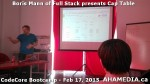 8 AHA MEDIA at Boris Mann of Full Stack presents Cap Tables & Shares at CodeCore Bootcamp Community W
