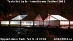 8 AHA MEDIA at Tents Set up for HomeGround Festival 2015 in VancouverDTES