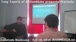 8 AHA MEDIA at Troy Topnik of ActiveState talk at CodeCore Bootcamp community week Feb 16 2015 in Van