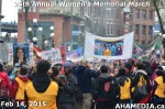 82 AHA MEDIA at 25th Annual Women's Memorial March on Feb 14, 2015 in Vancouver DTES