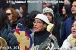 84 AHA MEDIA at 25th Annual Women's Memorial March on Feb 14, 2015 in VancouverDTES