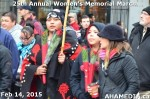 88 AHA MEDIA at 25th Annual Women's Memorial March on Feb 14, 2015 in Vancouver DTES