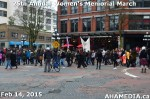 89 AHA MEDIA at 25th Annual Women's Memorial March on Feb 14, 2015 in Vancouver DTES
