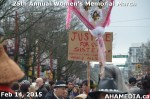 9 AHA MEDIA at 25th Annual Women's Memorial March on Feb 14, 2015 in Vancouver DTES