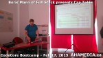 9 AHA MEDIA at Boris Mann of Full Stack presents Cap Tables & Shares at CodeCore Bootcamp Community W