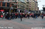 90 AHA MEDIA at 25th Annual Women's Memorial March on Feb 14, 2015 in Vancouver DTES