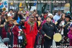 91 AHA MEDIA at 25th Annual Women's Memorial March on Feb 14, 2015 in VancouverDTES