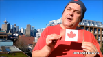 Garvin Snider of AHA MEDIA on 50th Anniversary of National Canada Flag Day on Sun Feb 15, 2015 in Vancouver DTES 1 (1)