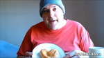 Garvin Snider of AHA MEDIA on Heart Shaped Jelly Doughnut for Valentine's Day 2015 in Vancouver DTES 1 (1)