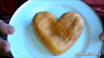 Garvin Snider of AHA MEDIA on Heart Shaped Jelly Doughnut for Valentine's Day 2015 in Vancouver DTES 1 (2)