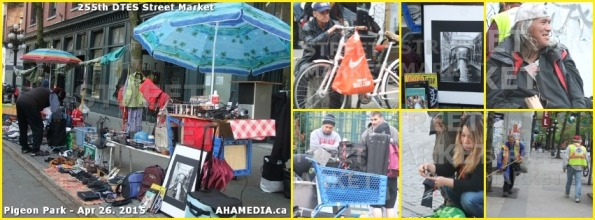 0 AHA MEDIA at 255th DTES Street Market in Vancouver on Apr 26 2015