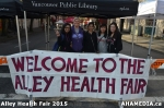 1 AHA MEDIA at Alley Health Fair on Apr 21, 2015 in Vancouver