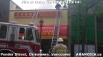 10 AHA MEDIA at Fire at Daisy Garden restaurant in Chinatown, Vancouver April 21, 2015