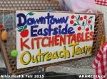101 AHA MEDIA at Alley Health Fair on Apr 21, 2015 inVancouver