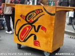 105 AHA MEDIA at Alley Health Fair on Apr 21, 2015 in Vancouver