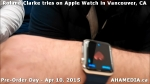 12 Roland Clarke tries on Apple Watch in Vancouver Canada on April 10, 2015