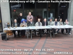 13 AHA MEDIA at Press Release for 130 year anniversary of CPR show inVancouver