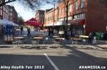 14 AHA MEDIA at Alley Health Fair on Apr 21, 2015 inVancouver