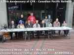 14 AHA MEDIA at Press Release for 130 year anniversary of CPR show inVancouver