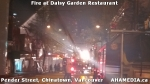 15 AHA MEDIA at Fire at Daisy Garden restaurant in Chinatown, Vancouver April 21, 2015