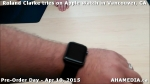 16 Roland Clarke tries on Apple Watch in Vancouver Canada on April 10, 2015