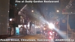 17 AHA MEDIA at Fire at Daisy Garden restaurant in Chinatown, Vancouver April 21, 2015