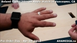 17 Roland Clarke tries on Apple Watch in Vancouver Canada on April 10, 2015