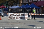 18 AHA MEDIA at Alley Health Fair on Apr 21, 2015 inVancouver