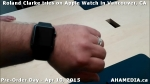 18 Roland Clarke tries on Apple Watch in Vancouver Canada on April 10, 2015