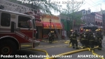2 AHA MEDIA at Fire at Daisy Garden restaurant in Chinatown, Vancouver April 21, 2015
