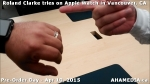 20 Roland Clarke tries on Apple Watch in Vancouver Canada on April 10, 2015