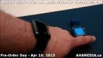 21 Roland Clarke tries on Apple Watch in Vancouver Canada on April 10, 2015