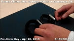 23 Roland Clarke tries on Apple Watch in Vancouver Canada on April 10, 2015
