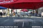 24 AHA MEDIA at Alley Health Fair on Apr 21, 2015 inVancouver