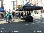 30 AHA MEDIA at Alley Health Fair on Apr 21, 2015 in Vancouver