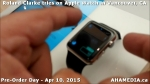 30 Roland Clarke tries on Apple Watch in Vancouver Canada on April 10, 2015