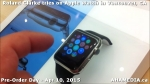 31 Roland Clarke tries on Apple Watch in Vancouver Canada on April 10, 2015