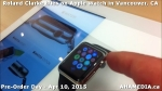 34 Roland Clarke tries on Apple Watch in Vancouver Canada on April 10, 2015