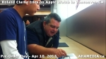 35 Roland Clarke tries on Apple Watch in Vancouver Canada on April 10, 2015