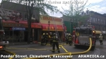 4 AHA MEDIA at Fire at Daisy Garden restaurant in Chinatown, Vancouver April 21, 2015