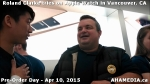 5 Roland Clarke tries on Apple Watch in Vancouver Canada on April 10, 2015