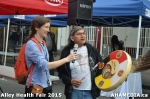 50 AHA MEDIA at Alley Health Fair on Apr 21, 2015 inVancouver
