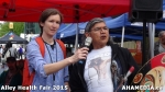 52 AHA MEDIA at Alley Health Fair on Apr 21, 2015 in Vancouver